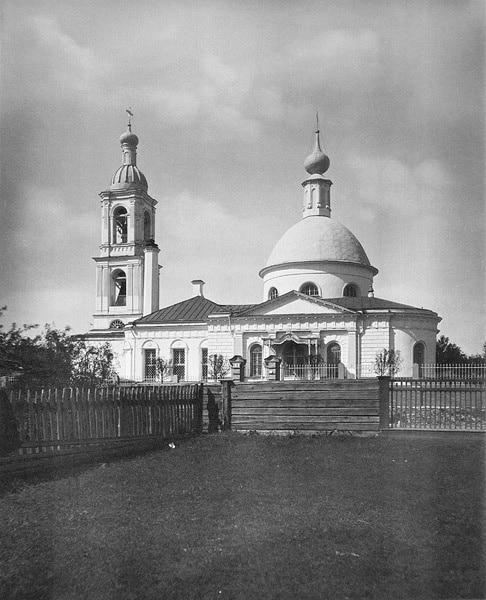 Храм Великомученика Георгия Победоносца в Грузинах