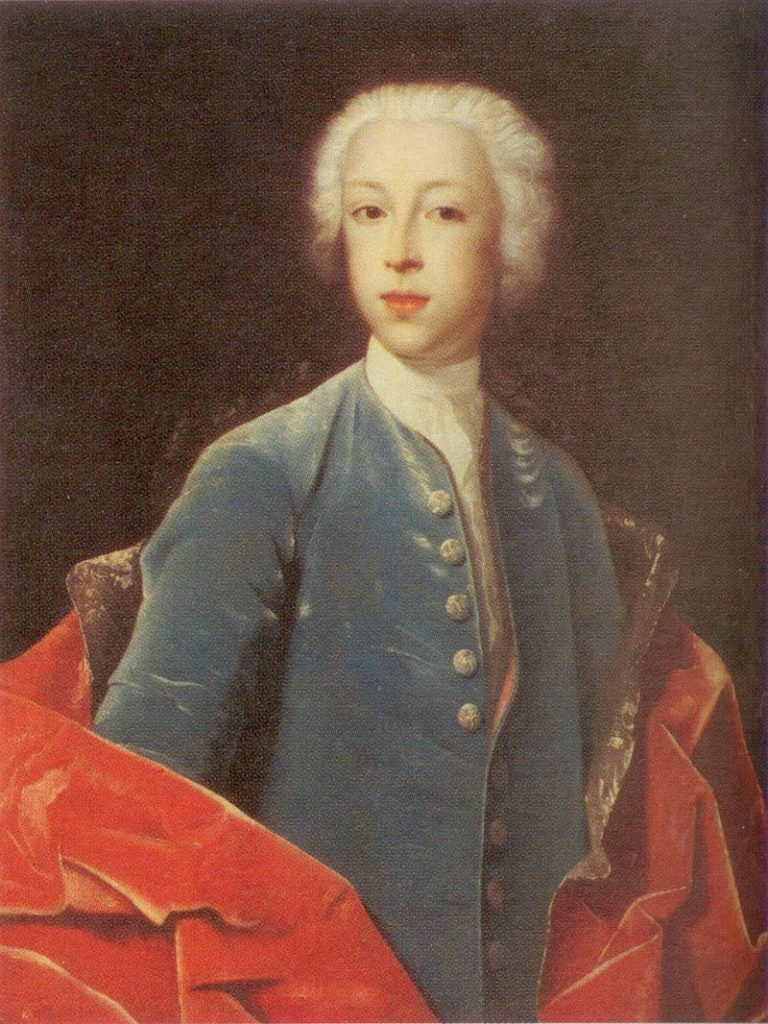 Иван Андреевич Остерман. Портрет 1738 года