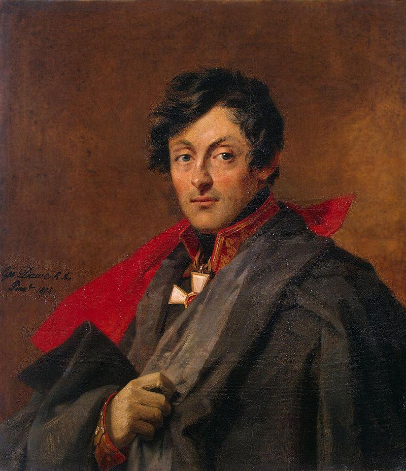 Доу, Джордж. Портрет Александра Ивановича Остермана-Толстого (1825 г.)