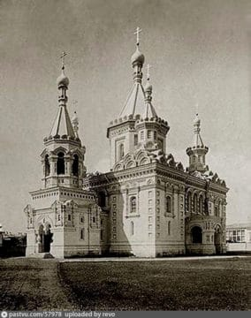 Храм Архангела Михаила. 1898 год