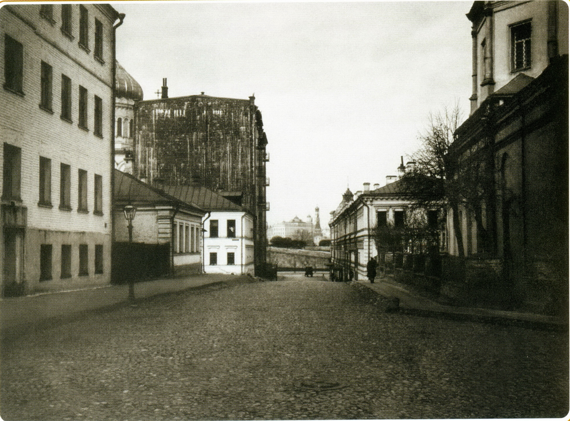 Обыденский переулок. Вид из 2-го Ильинского переулка