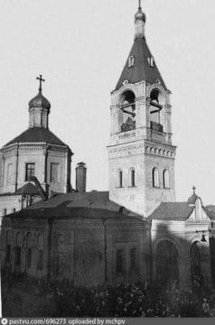 Церковь Илии Пророка в Обыденском переулке
