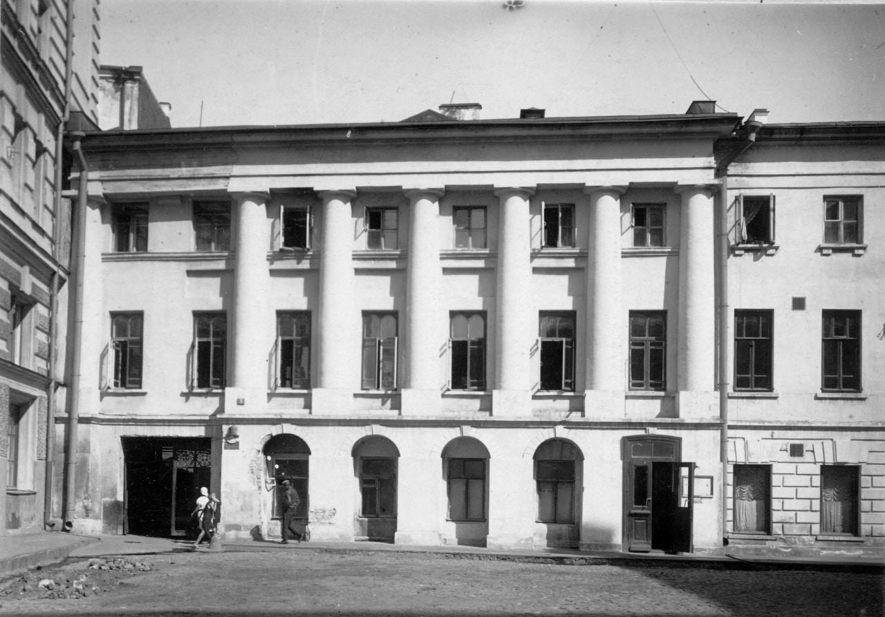 Дом в Копьевском переулке, 1920-1940 (Архив ЦИГИ)