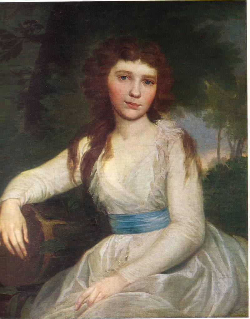 Екатерина Волковская на портрете работы В. Л. Боровиковского