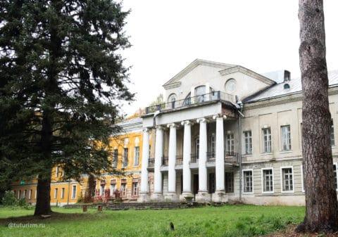 Парадный фасад дворца, 2020
