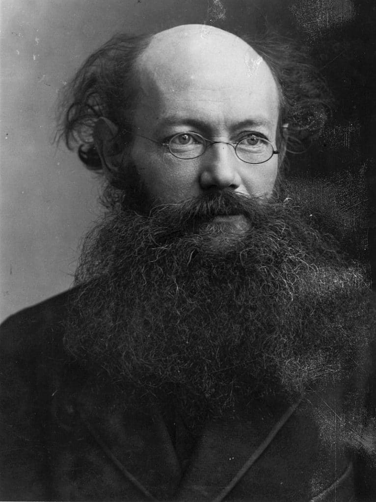 П. А. Кропоткин в 1880-х годах
