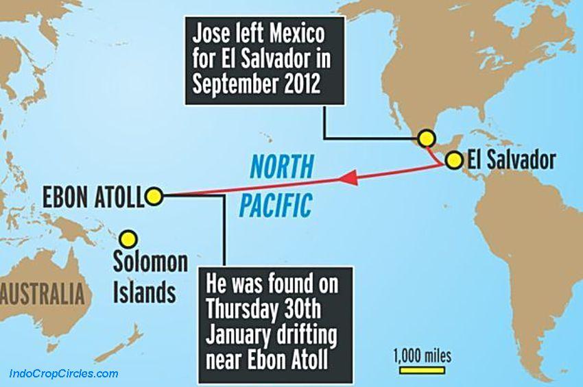 Хосе Альваренга: тихоокеанский круиз поневоле
