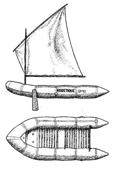 Корабль Алана Бомбара