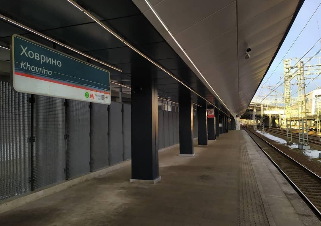 Железнодорожная станция Ховрино