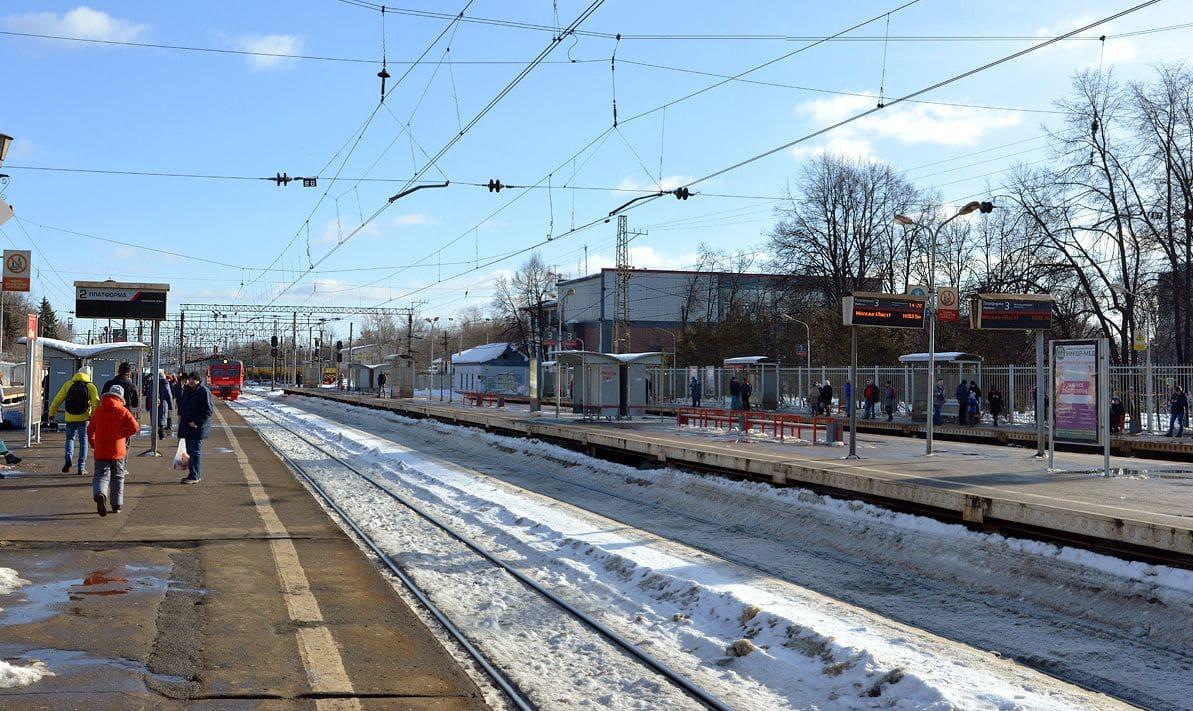 Железнодорожная станция Крюково