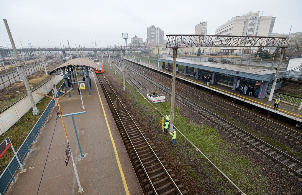 Железнодорожная станция Рижская